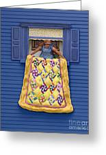 Quilted Showing Greeting Card