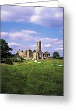 Quin Abbey, Quin, Co Clare, Ireland Greeting Card by The Irish Image Collection