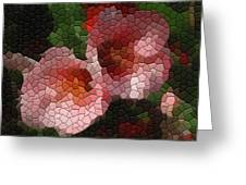 Quince Toyo Nishiki Greeting Card