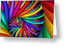 Quite Different Colors -16- Greeting Card