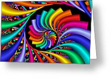 Quite Different Colors -18- Greeting Card