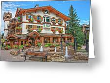 Quite Possibly The Most Expensive And Luxurious Ski Resort In The World, Vail, Colorado  Greeting Card