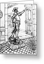 Quixote Museum Greeting Card