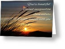 Quote5 Greeting Card