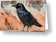 Quoth The Raven Greeting Card
