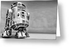 R2 Feeling Lonely Greeting Card