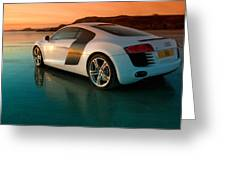 R8 On The Beach 2 Greeting Card by Rory Trappe