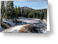 Rabbit Ears Pass Greeting Card