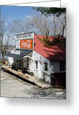Rabbit Hash Store-front View Angle Greeting Card