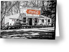 Rabbit Hash Store-front View Sc Greeting Card