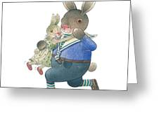 Rabbit Marcus The Great 28 Greeting Card