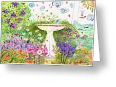 Rabbitland Greeting Card