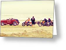 Race Time Greeting Card