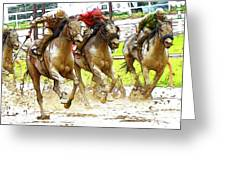 Racetrack Dreams 11 Greeting Card