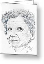 Rachel Carson Greeting Card