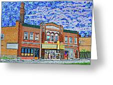 Racine, Wisconsin Greeting Card