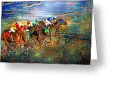 Racing Energy II Greeting Card