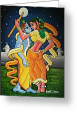 Radakrishna Greeting Card