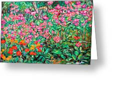 Radford Flower Garden Greeting Card