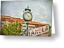 Radford Virginia - Time For A Visit Greeting Card