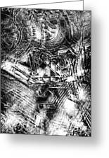 Radiance In Monochrome  Greeting Card