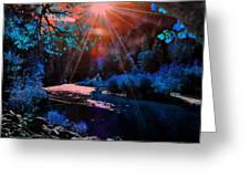 Radiant Energy Greeting Card