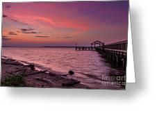 Radiant Sky Greeting Card