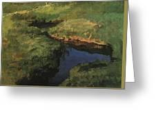 Raduga1 1908 Konstantin Andreevich 1869-1939 Somov Greeting Card