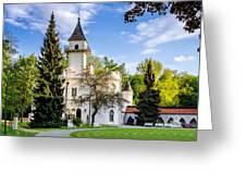 Radziejowice Castle Greeting Card