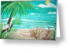 Raelee's Beach Greeting Card