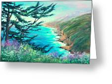 Ragged Point Greeting Card