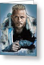 Ragnar Lothbrok Greeting Card