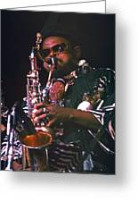 Rahsaan Roland Kirk 4 Greeting Card