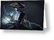 Raiden - Mortal Kombat Greeting Card