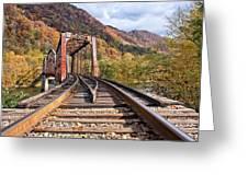 Rail Bridge Greeting Card