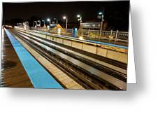 Rail Perspective Greeting Card