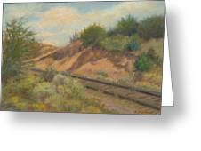 Rail To Lamy Greeting Card