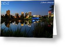 Railraod Park Bham, Al Greeting Card