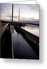 Railroad Bridge Greeting Card