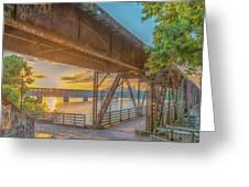 Railroad Bridge12 Greeting Card