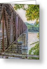 Railroad Bridge14 Greeting Card