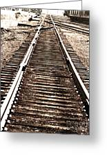 Railroad Tracks  In 1939 Greeting Card