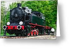 Railroad Walk Greeting Card
