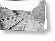 Rails 004 Greeting Card