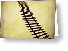 Railway Greeting Card by Bernard Jaubert