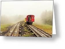 Railway To The Summit Greeting Card