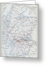 Railways Of Scotland Greeting Card