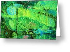 Rain Land I  Greeting Card by Lolita Bronzini