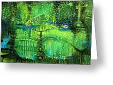 Rain Land II Greeting Card