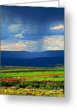 Rain Over The Uncompaghre Greeting Card